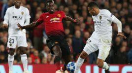 Manchester United y Valencia, empatan sin goles en la UCL