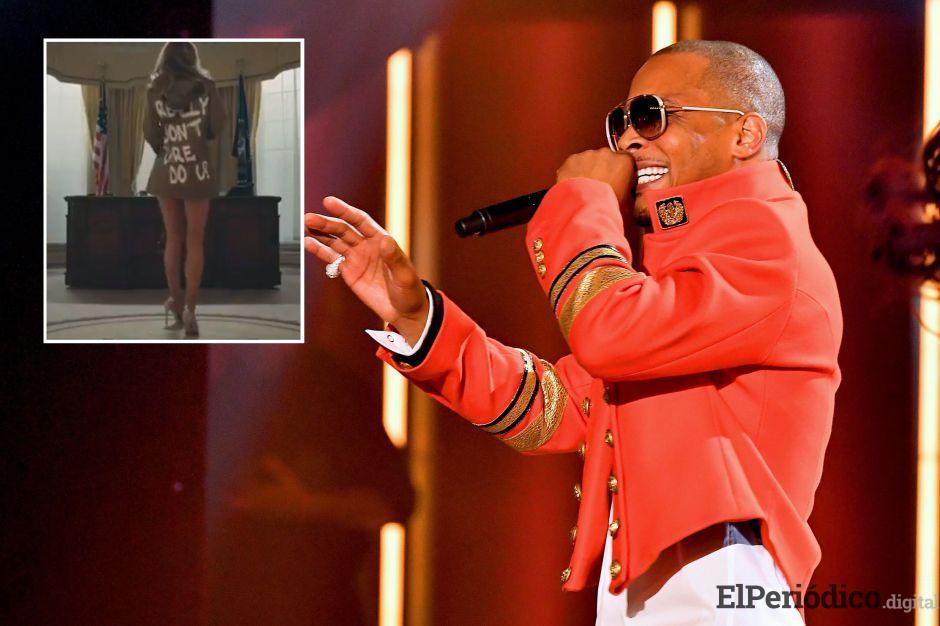VIDEO: El rapero reaccionó de este modo a la reunión entre el presidente y Kanye West