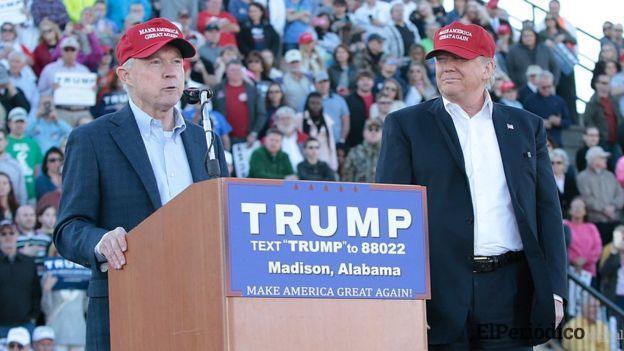 Donald Trump destituye a Jeff Sessions como fiscal general de los Estados Unidos