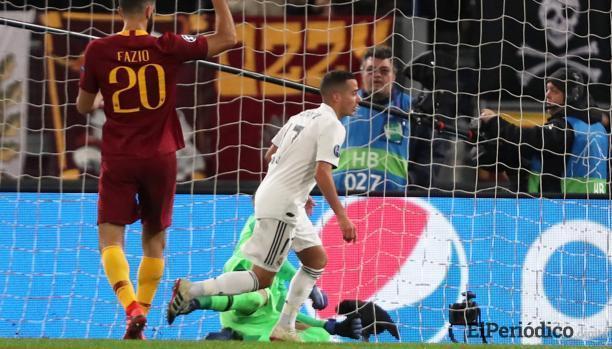 El Real Madrid agarra aire en Europa tras vencer a la Roma