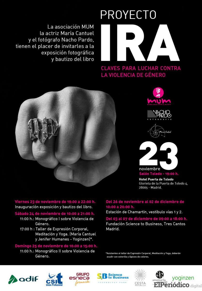 PROYECTO IRA: Día Internacional de la NO Violencia contra la mujer