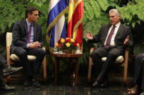 Epaña y Cuba