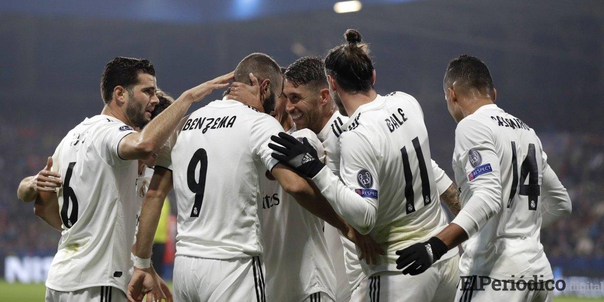 El Real Madrid se reencuentra con los goles