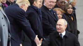 Putin asegura haber tenido una buena conversación con Donald Trump en parís