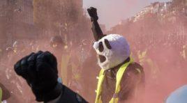 Marcha en Francia contra Macron deja un muerto y más de doscientos heridos