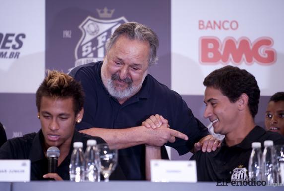 neymar-y-ganso-en-santos-brasil