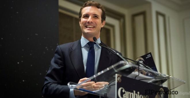Pablo Casado promete aprobar un 155 en su primer Consejo de Ministros