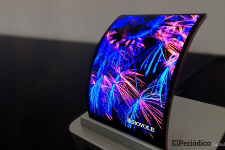 smartphone pantalla flexible