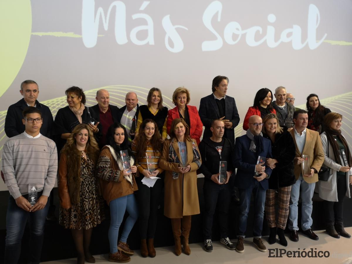 La Junta reconoce la importante labor social de entidades y personas de la provincia en el ámbito de los servicios sociales