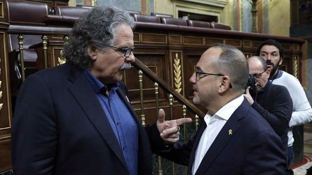 El diputado de ERC, Joan Tarda afirma que con su apoyo a la senda de déficit busca «construir espacios de negociación» con el Gobierno