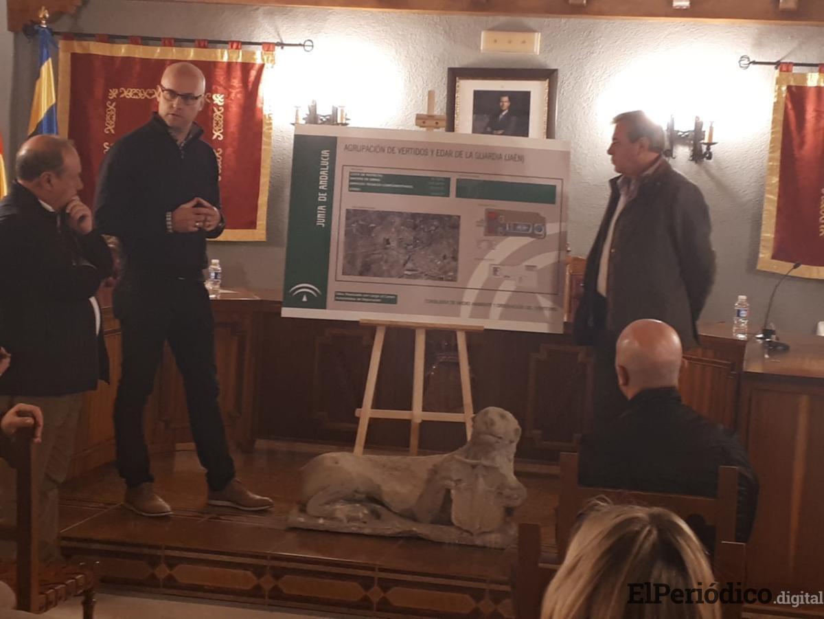 Medio Ambiente adjudica la construcción de la agrupación de vertidos y la depuradora de La Guardia por 3,3 millones de euros