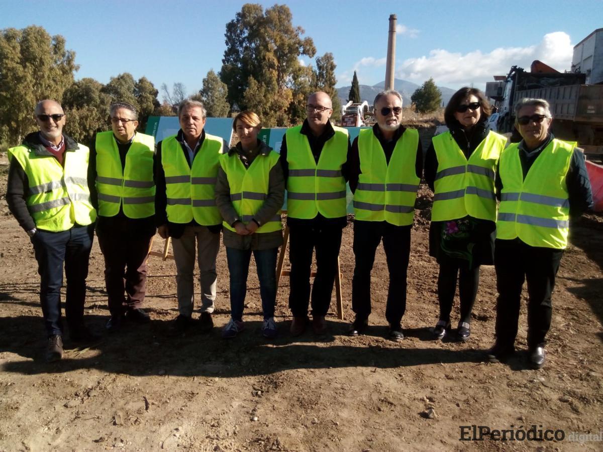 Medio Ambiente inicia las obras para la construcción del punto limpio de recogida de residuos urbanos de Torredonjimeno