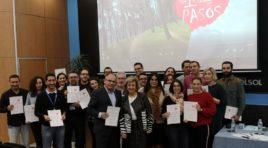 130 profesionales de la empresa Software DELSOL participan en el programa 'Por un millón de pasos' que impulsa Salud