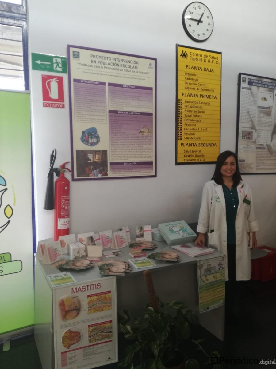 El centro de salud de Martos celebra la semana de la lactancia materna, enmarcada en el Plan de Acción Local en Salud, para concienciar a la sociedad sobre sus múltiples beneficios