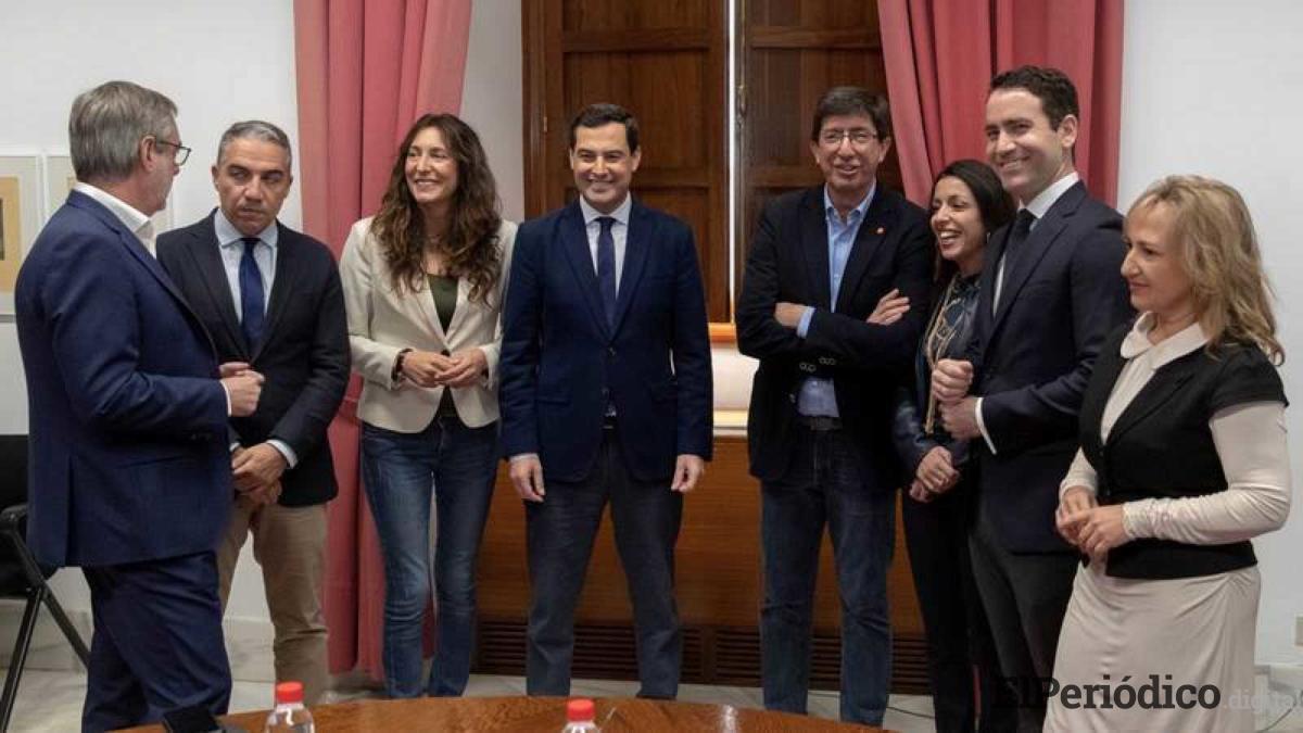 Marta Bosquet, es la nueva presidenta del parlamento de Andalucía