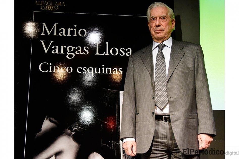 Vargas Llosa decidió abandonar el Pen Club