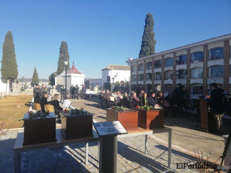 Cobo. Inhumación víctimas franquistas 08-01-18
