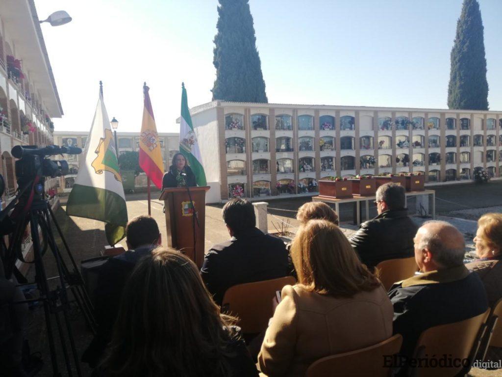 La Junta defiende las políticas de Memoria Histórica 1