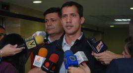 Guaidó está decidido a solicitar la cooperación extranjera para sacar a Maduro
