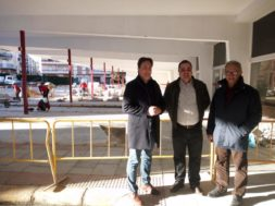 Higueras-Obras estación autobuses Martos 09-01-19