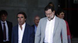 La Convención Nacional del PP logró juntar, pero no unir a Aznar y Rajoy