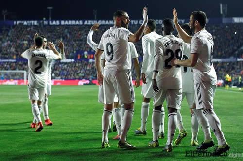 El Madrid se Levanta con dos penaltis de VAR