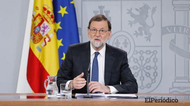 """""""Lo que es España lo deciden todos los españoles"""", fueron las palabras de Rajoy para aplicar el 155"""