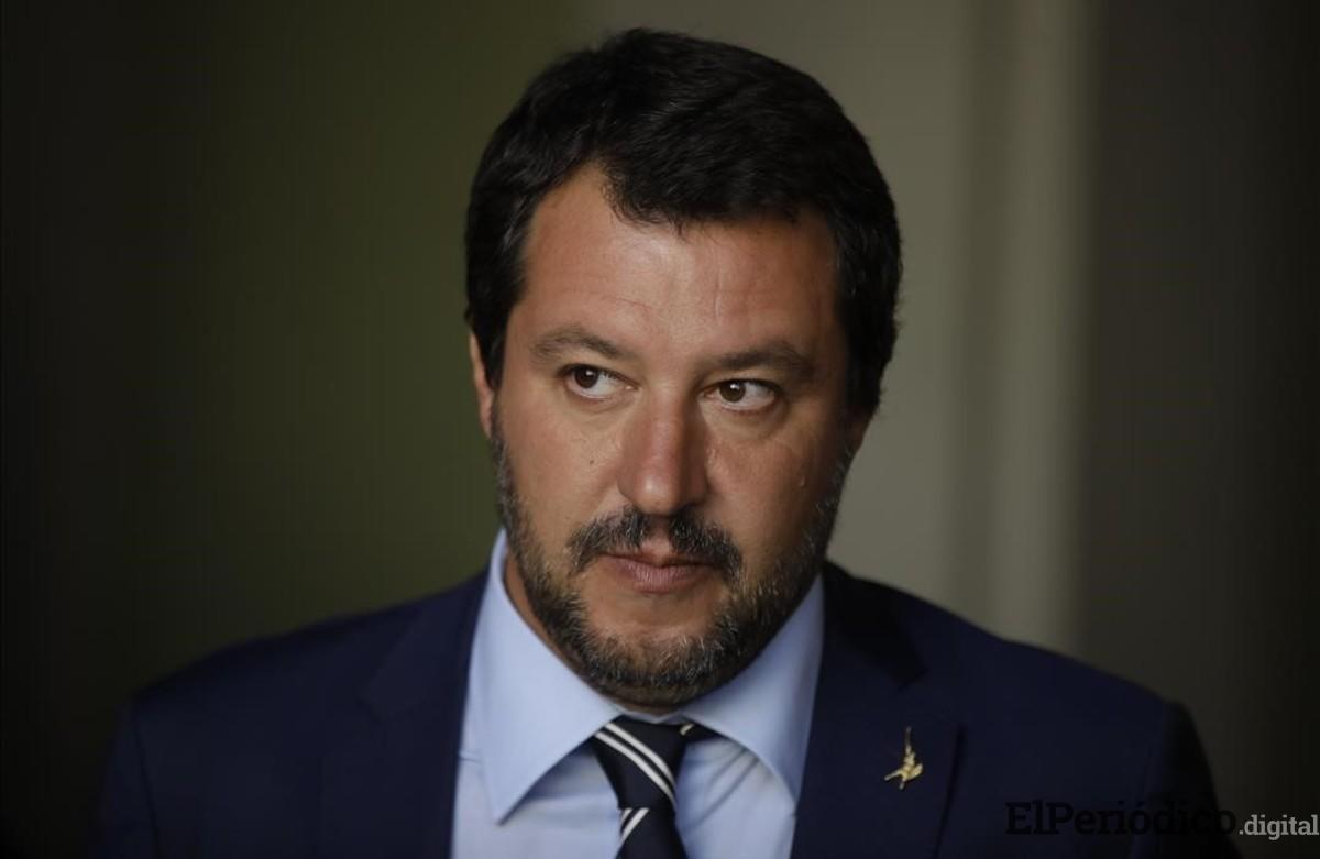 Salvini le brinda todo su apoyo a Guaidó para que este celebre elecciones