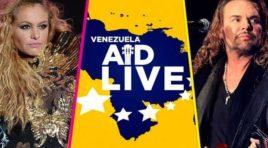 """""""Venezuela Aid Live"""" una gran cantidad de cantantes, cantaran contra Maduro en el duelo de opositores y chavistas"""