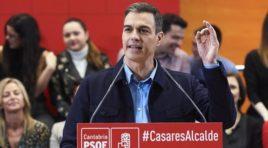 El presidente de Gobierno Pedro Sánchez, convoca elecciones generales para el día 28 de abril