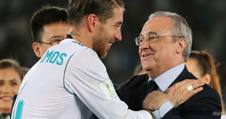 Se presentó una fuerte discusión entre Sergio Ramos y Florentino Pérez