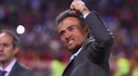Luis Enrique ha decidido presumir de sus números con España