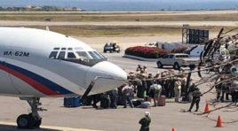 Aterrizan en Caracas otros dos aviones de la Fuerza Aérea Rusa