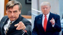 El encuentro entre Trump y Bolsonaro, tendrá como tema principal la situación de Venezuela