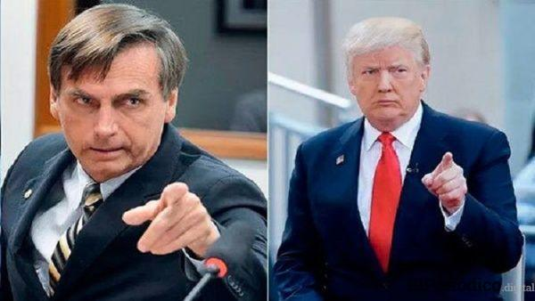 Bolsonaro y Trump