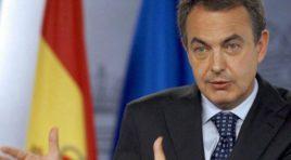 Regresa a la ciudad de Caracas después de meses de ausencia, Rodríguez Zapatero