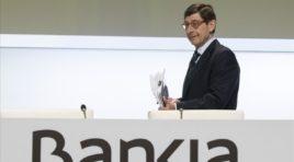 """Goirigolzarri le pidió al nuevo Gobierno que trate de evitar la """"tentación"""" de usar Bankia como banca pública"""