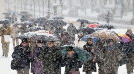 Un temporal de frio afecta gravemente a España