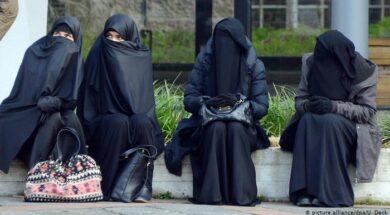 La burka o el nicab