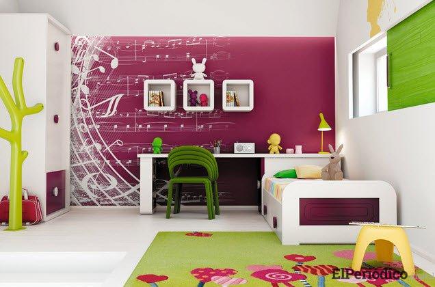 Consejos para la decoración de dormitorios juveniles