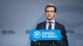 Pablo Casado asegura que ganar las elecciones pondrá en marcha la aplicación del 155