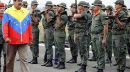 Fuerza Armada de Venezuela continúan respaldando al Gobierno Nacional e ignoran el llamado de los Estados Unidos.
