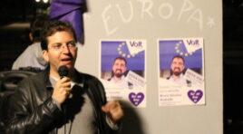 El grupo político Volt Europa comienza su campaña electoral en España para formar el grupo parlamentario europeísta