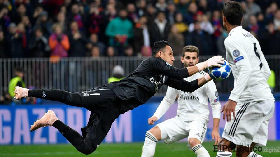 Keylor Navas no se ira del Madrid