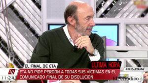 Murió Alfredo Pérez Rubacalba, político que dirigió el fin de la ETA 5