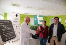 Hospital Universitario de Jaén celebra el Día del Medio Ambiente con el reparto de plantones
