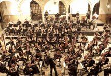 La Orquesta Joven de Andalucía actúa en el Baezafest bajo la batuta de Macías Navarro