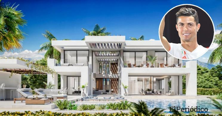 Fotos de la casa de Cristiano Ronaldo en Estepona, Málaga
