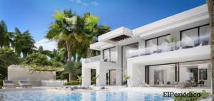 Fotos de la casa de Cristiano Ronaldo en Estepona, Málaga 5