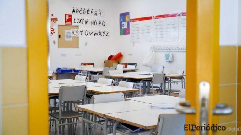 El profesorado no está de acuerdo con los planes de vuelta a clases para septiembre